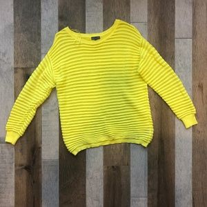 Yellow Vice Camuto Sweater